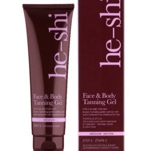 He shi face and body tanning gel