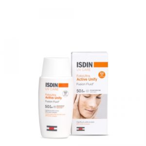 Foto Ultra 100 ISDIN Active Unify Fusion Fluid SPF 50+