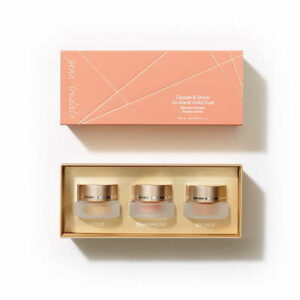 Limited Edition - 24-Karat Gold Dust Trio jane iredale holiday